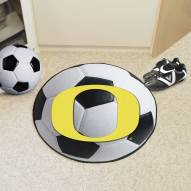 Oregon Ducks Soccer Ball Mat