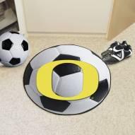 Oregon Ducks Soccer Ball Mat