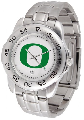 Oregon Ducks Sport Steel Men's Watch
