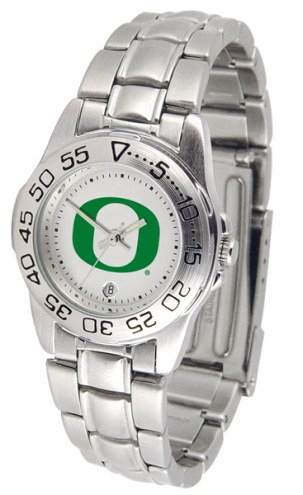 Oregon Ducks Sport Steel Women's Watch