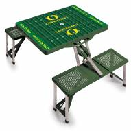 Oregon Ducks Sports Folding Picnic Table