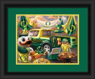 Oregon Ducks Tailgate Framed Print