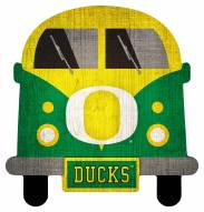 Oregon Ducks Team Bus Sign