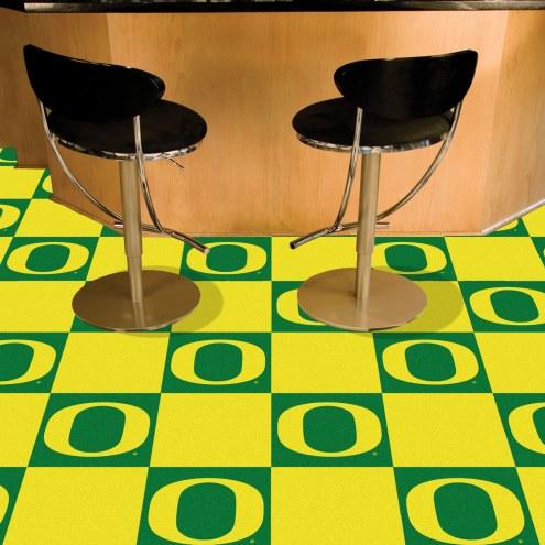 Oregon Ducks Team Carpet Tiles
