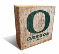 Oregon Ducks Team Logo Block