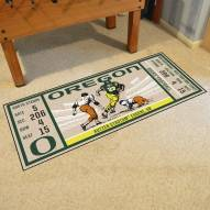 Oregon Ducks Ticket Runner Rug
