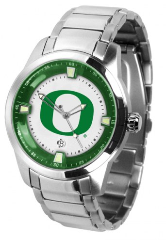 Oregon Ducks Titan Steel Men's Watch