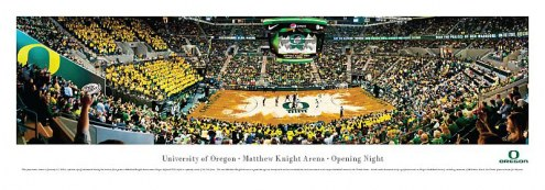 Oregon Ducks Unframed Panorama
