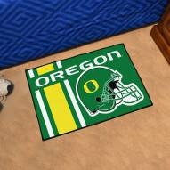 Oregon Ducks Uniform Inspired Starter Rug