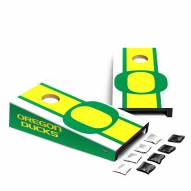 Oregon Ducks Mini Cornhole Set
