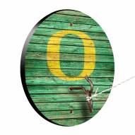 Oregon Ducks Weathered Design Hook & Ring Game