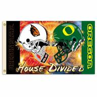 Oregon/Oregon State 3' x 5' House Divided Flag