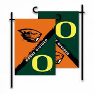 Oregon/Oregon State House Divided Garden Flag