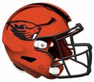 """Oregon State Beavers 12"""" Helmet Sign"""