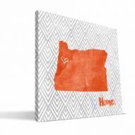 "Oregon State Beavers 12"" x 12"" Home Canvas Print"