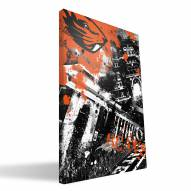 "Oregon State Beavers 16"" x 24"" Spirit Canvas Print"