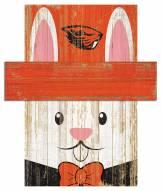 "Oregon State Beavers 19"" x 16"" Easter Bunny Head"