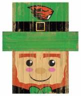"Oregon State Beavers 19"" x 16"" Leprechaun Head"