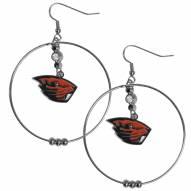 """Oregon State Beavers 2"""" Hoop Earrings"""