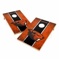 Oregon State Beavers 2' x 3' Vintage Wood Cornhole Game