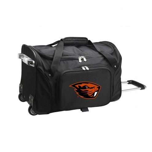 "Oregon State Beavers 22"" Rolling Duffle Bag"