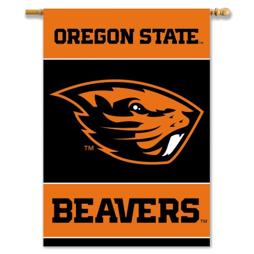 """Oregon State Beavers 28"""" x 40"""" Two-Sided Banner"""