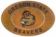 "Oregon State Beavers 46"" Heritage Logo Oval Sign"