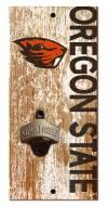 "Oregon State Beavers 6"" x 12"" Distressed Bottle Opener"