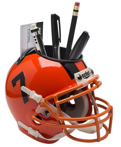 Oregon State Beavers Alternate 3 Schutt Football Helmet Desk Caddy