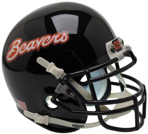 Oregon State Beavers Alternate 4 Schutt Mini Football Helmet