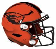 Oregon State Beavers Authentic Helmet Cutout Sign