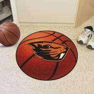 Oregon State Beavers Basketball Mat