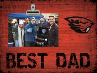 Oregon State Beavers Best Dad Clip Frame