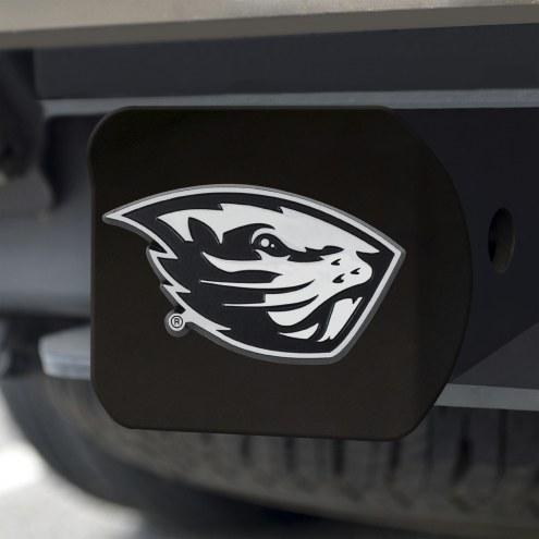 Oregon State Beavers Black Matte Hitch Cover