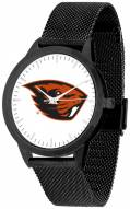 Oregon State Beavers Black Mesh Statement Watch