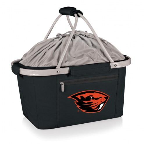 Oregon State Beavers Black Metro Picnic Basket