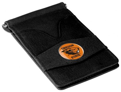 Oregon State Beavers Black Player's Wallet