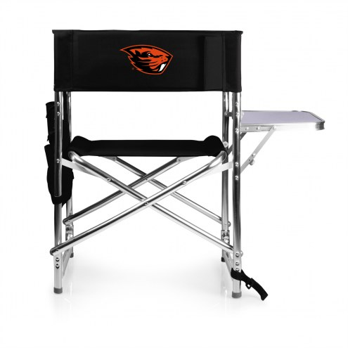 Oregon State Beavers Black Sports Folding Chair