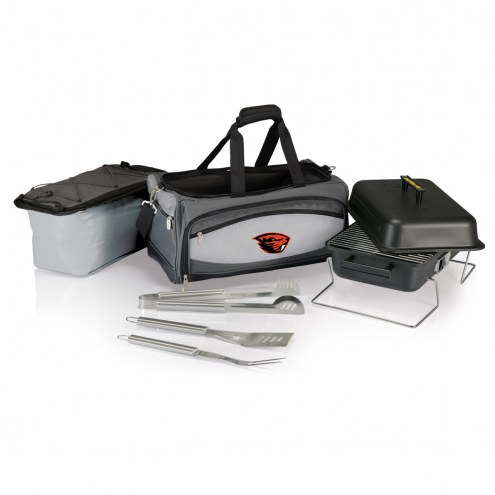 Oregon State Beavers Buccaneer Grill, Cooler and BBQ Set