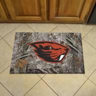 Oregon State Beavers Camo Scraper Door Mat