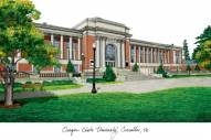 Oregon State Beavers Campus Images Lithograph