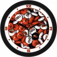 Oregon State Beavers Candy Wall Clock