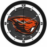 Oregon State Beavers Carbon Fiber Wall Clock