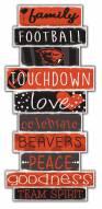 Oregon State Beavers Celebrations Stack Sign