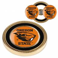 Oregon State Beavers Challenge Coin with 2 Ball Markers