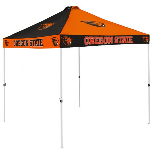 Oregon State Beavers 9' x 9' Checkerboard Tailgate Canopy Tent