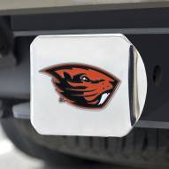Oregon State Beavers Chrome Color Hitch Cover
