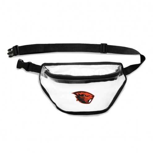 Oregon State Beavers Clear Fanny Pack