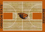 Oregon State Beavers College Home Court Area Rug