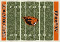 Oregon State Beavers College Home Field Area Rug
